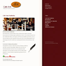 Webseite Cafe Amt